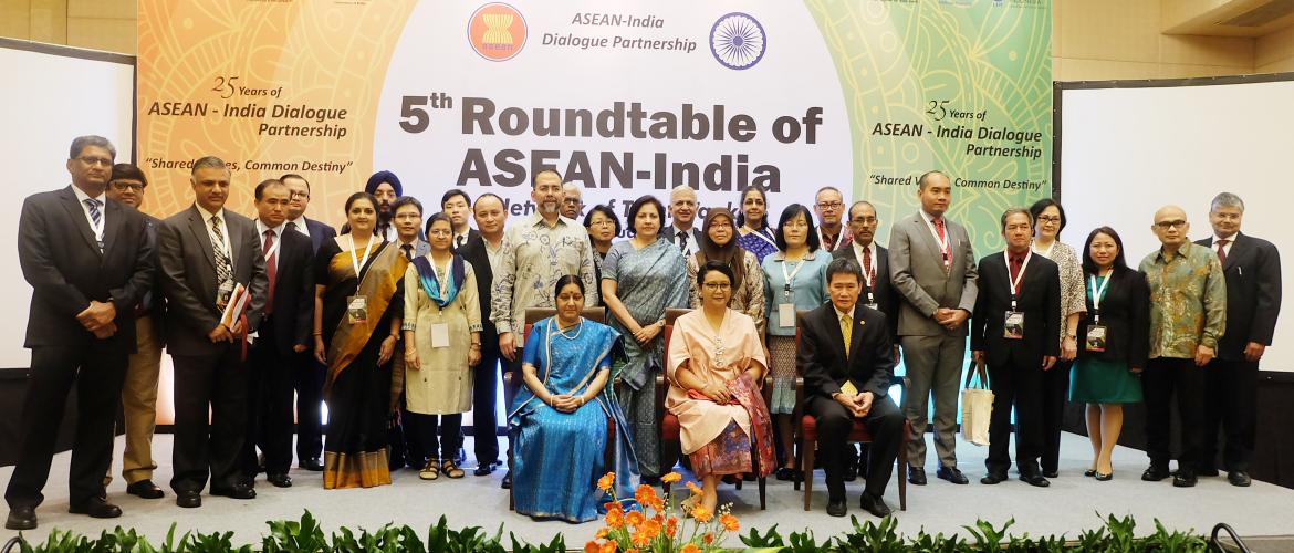 5th Roundtable of ASEAN-India Network of Think-Tanks (6-7 January 2018)