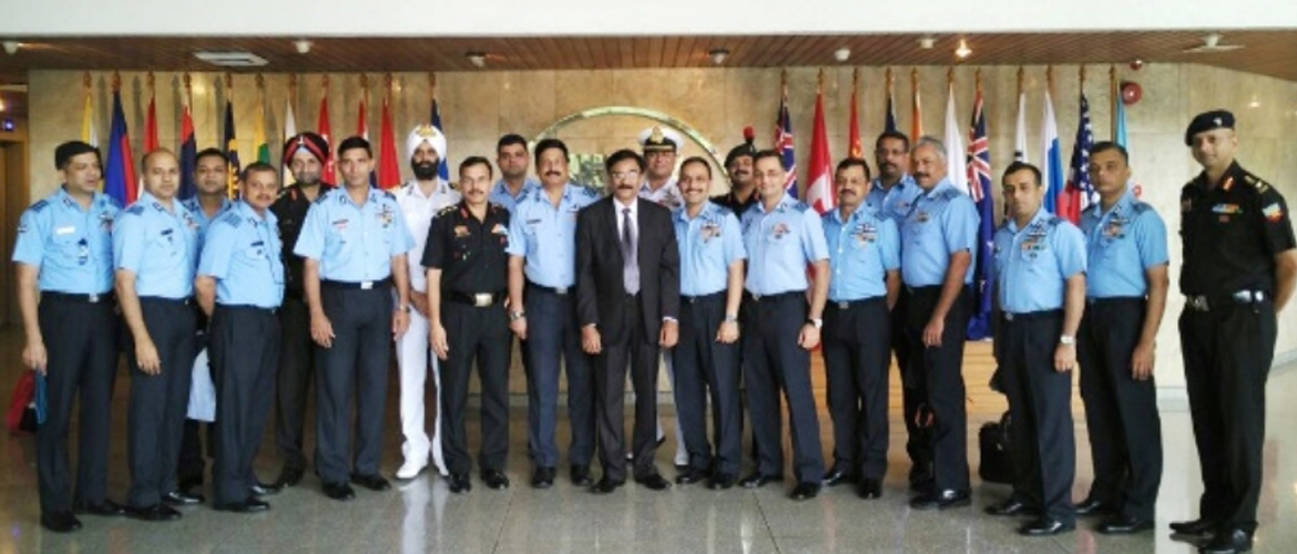 Visit by Indian Defense Delegation to the ASEAN Secretariat, 12th October 2017, Jakarta