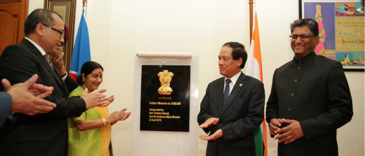 India inaugurates diplomatic mission to ASEAN