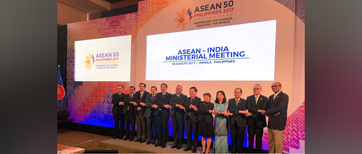 H.E. Gen (Retd) Mr. V.K. Singh, Minister of State for External Affairs, India at the 15th ASEAN-India Foreign Ministers' Meeting in Manila, Philippines on 06 August 2017